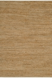 cutout image of Soumak Jute Rug - Natural on white background