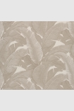 square detail image of Teide Tropical Leaves Wallpaper - Lights 01 - SAMPLE palm leaves on pale background repeated pattern