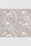 square detail image of Teide Tropical Leaves Wallpaper - Lights 02 - ROLL palm leaves on pale background repeated pattern