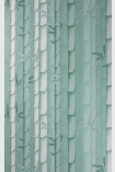 detail image of Osborne & Little Bamboo Wallpaper - Duck Egg Blue W7025-03 - ROLL different pale blue toned bamboo stems repeated pattern