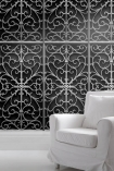Young & Battaglia Wrought Iron Metal Gate Wallpaper