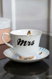 Image of the Mrs Teacup & Saucer