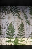 Close up of the fern tree leaves lining in the cabinet - Rockett St George detail image