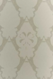 close up detail image of Barneby Gates Wallpaper - Boxing Hares - Stone medium diamond repeated pattern cream and nude