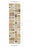 cutout Image of the NLXL EKA01 Biblioteca Wallpaper by Ekaterina Panikanova - Mural 1: Ducks with measurements