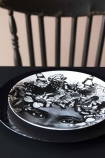 Butterfly Lady Fine China Plate