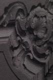 Koziel Charcoal Classical Louis XV Panelling Wallpaper