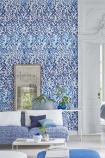 Designer Guild Majolica Collection - Arabesque Wallpaper - 2 Colours Available