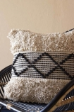 Diamond Trio Benni-Style Cotton Cushion