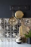 Five Point Star Tin Tile
