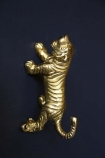 Gold Stalking Tiger Wall Hook