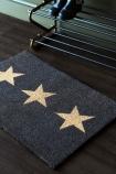Large Triple Star Doormat