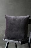Luxury Velvet Cushion - Slate Grey