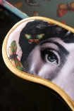 Close-up image of the Mademoiselle Butterfly Eye Mask