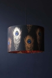 Mind The Gap Peacock Feathers Pendant Ceiling Light