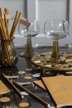 Lifestyle image of the Mustard Gold tableware range