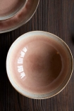 Image of the Rose Pink Pottery Bowl