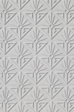 detail image of Anaglypta Deco Paradiso Wallpaper - White diamond with pattern inside repeated pattern