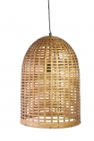 Image of the Beautiful Big Bell Bamboo Ceiling Light on a white background