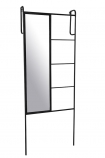 Image of the Cloakroom Mirror & Storage Ladder on a white background