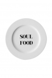 Image of the Soul Food Fine China Plate on a white background