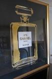 Angled image of the World-Famous Perfume Fragrance Art Print