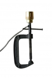 cutout image of Clamp Table Lamp on white background