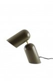 Como Short Circuit Style Desk Lamp - Olive Green