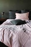 Lisbon Soft Linen Pair Of Pillowcases - Rose Pink