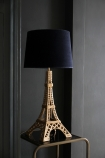 Metal Eiffel Tower Table Lamp