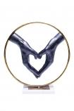 Heart Hands Ornament