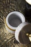 Hand Marble Trinket Pot