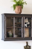 Industrial Crittall-Style Window Glass Wall Cabinet