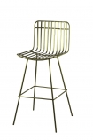 cutout image of Image of the Midas Bar Stool on a white background