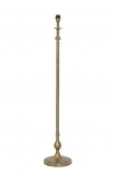 Traditional Candlestick Style Antique Bronze Floor Lamp