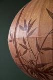 Traditional Japanese Lantern Ceiling Light - Terracotta Globe