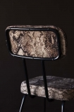 Rockett St George Sexy Snakeskin Dining Chair