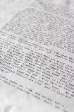 Set Of 4 Vintage Letter Napkins: Love Letters From Emily Dickinson, D. H. Lawrence, Jack London & Mark Twain