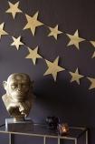 Shimmering Gold Star Garland
