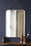Silver Frame Bathroom Mirror