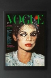 Unframed Vogue March 1974 Art Print By Barry Lategan
