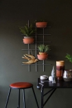 Wall Frame Planter With Pots