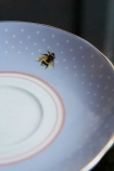Image of the saucer with the Gin Teacup & Saucer
