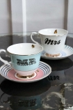 Image of the Mr & Mrs Teacup & Saucer