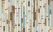 landscape detail image of NLXL PHE-03 Scrapwood Wallpaper by Piet Hein Eek