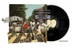 landscape cutout image of Unframed Abbey Road Record Cover Collage By Alison Stockmarr on white background