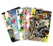 landscape detail image of Maison De Jeu by Christian Lacroix Playing Cards spread on white background