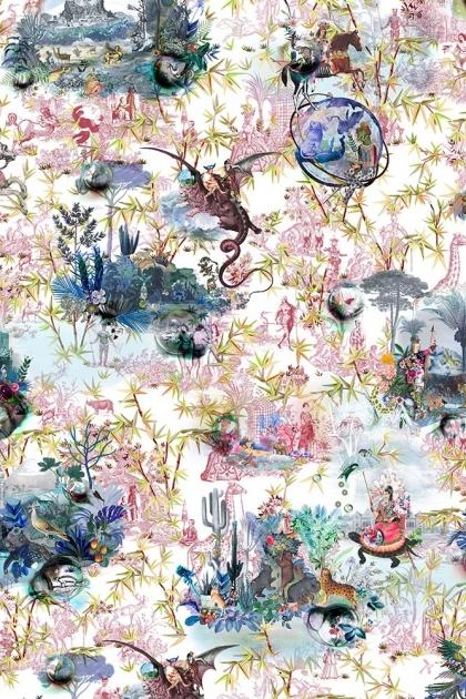 Christian Lacroix Au Thèâtre Ce Soir Collection - Reveries Wallpaper