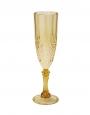 Golden Quality Plastic Champagne Flute