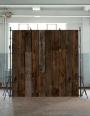 NLXL PHE-10 Scrapwood Wallpaper by Piet Hein Eek - Dark Brown Sleepers